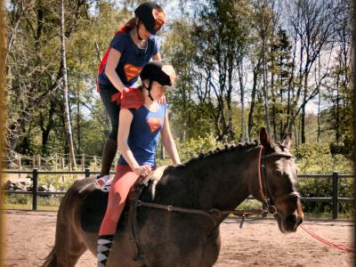 Skoj på hästryggen